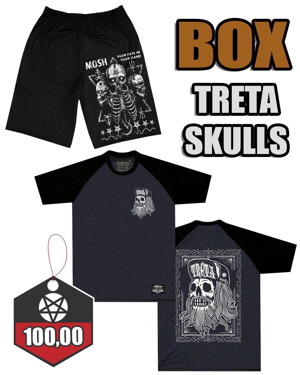 BOX TRETA SKULLS