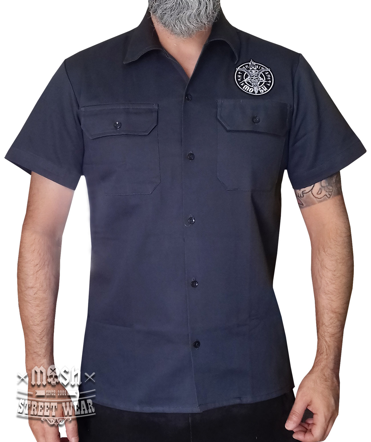 Camisa Worker King Goat