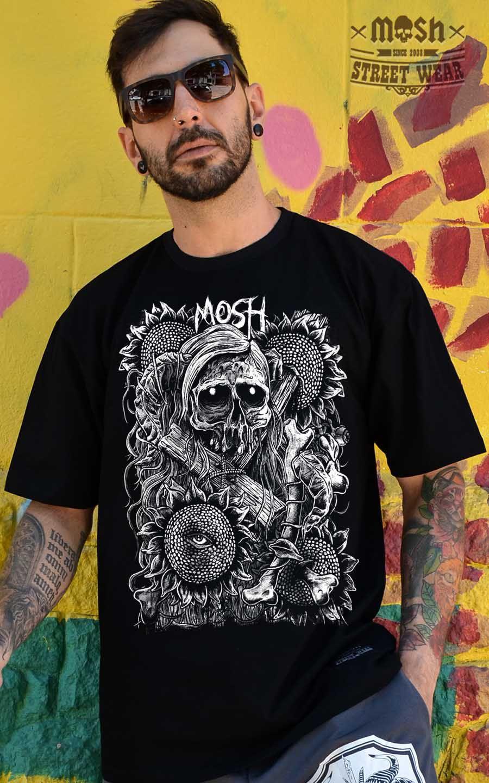 Camiseta Blossom Skull