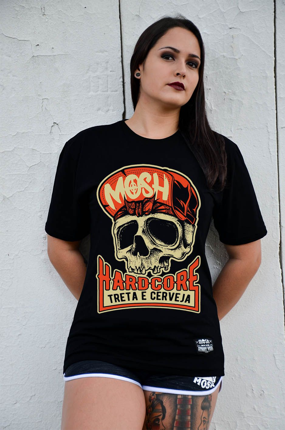 Camiseta Caveira HC Treta Cerveja