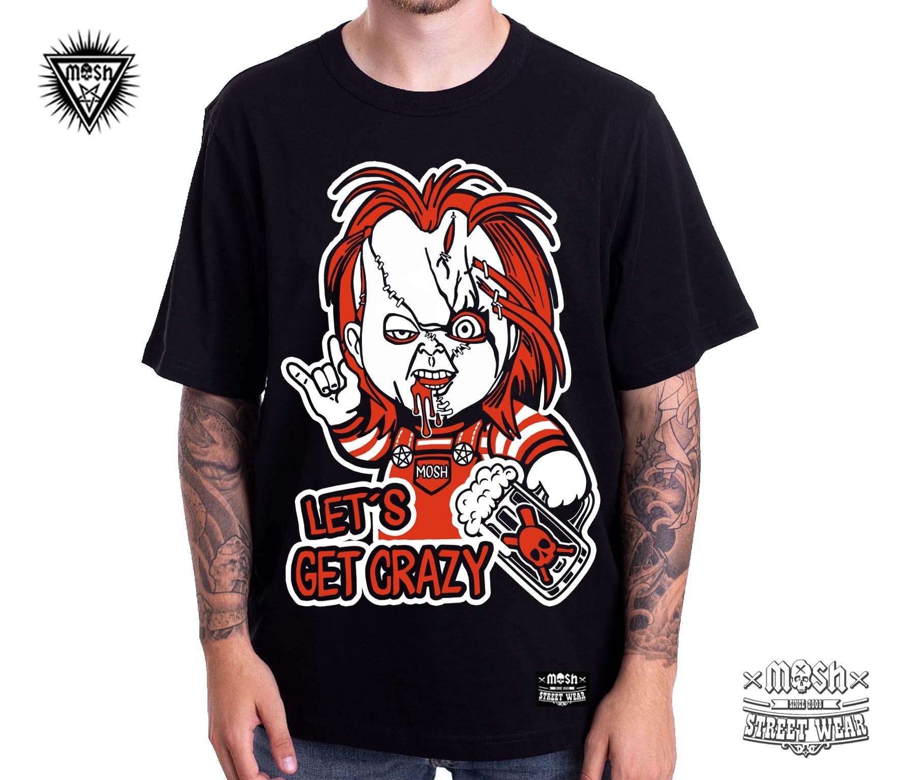 Camiseta Chuck Crazy