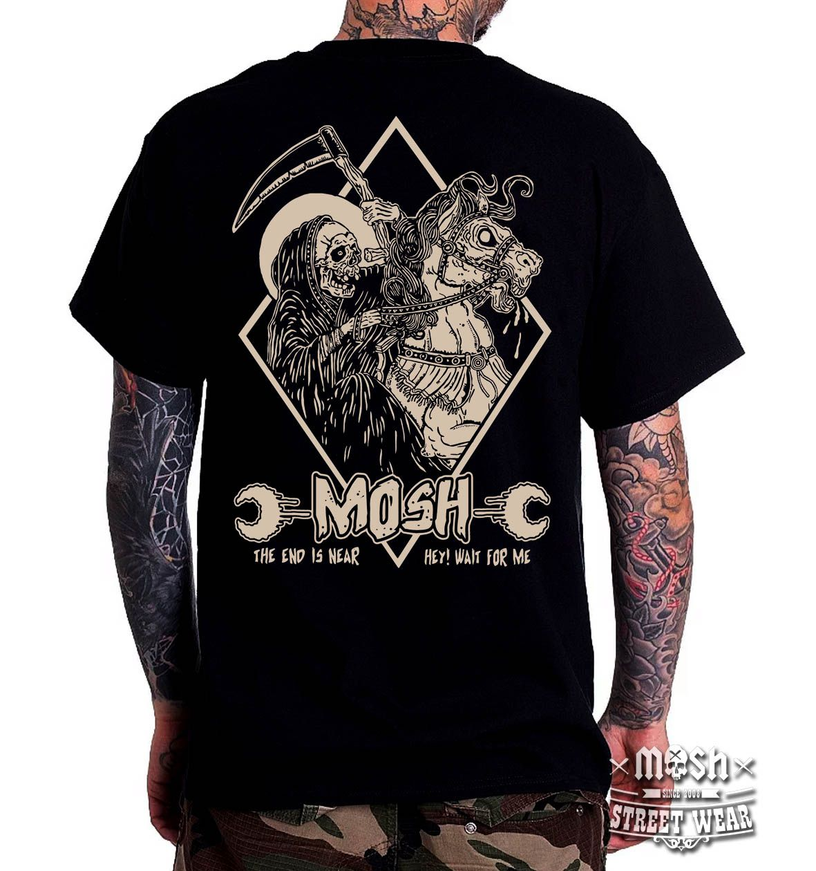 Camiseta Death is Near