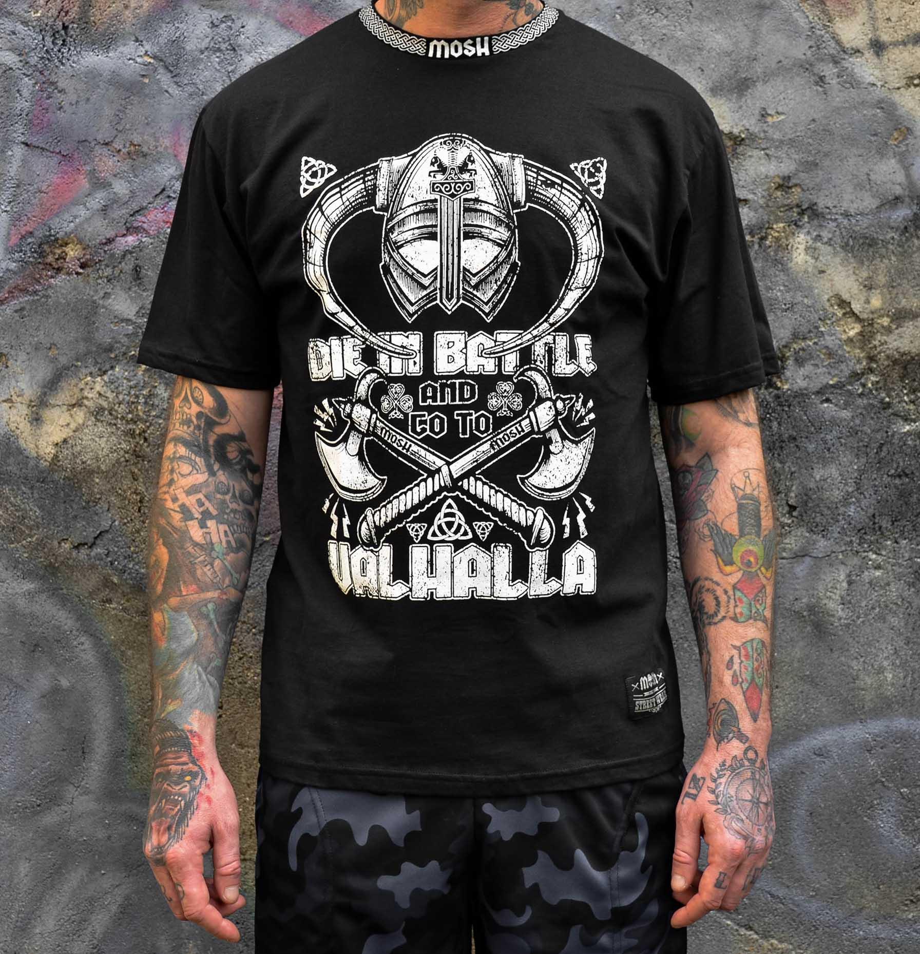 Camiseta Die in Battle