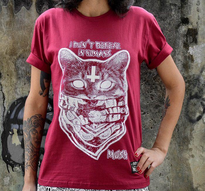 Camiseta Gato Bandana