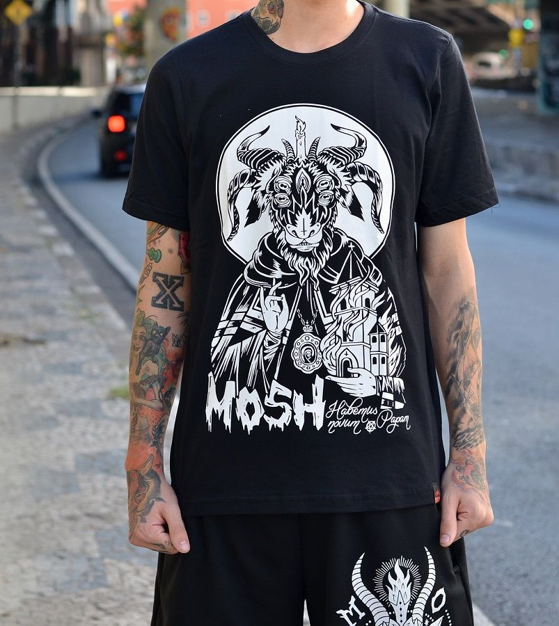Camiseta Goat Church