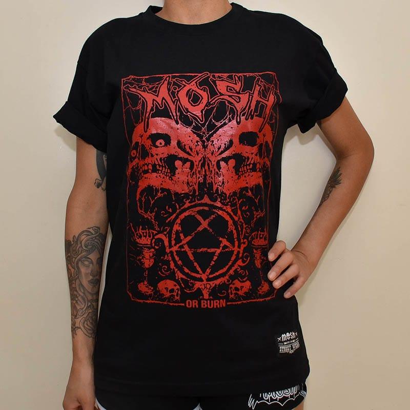 Camiseta HeartGram Skulls