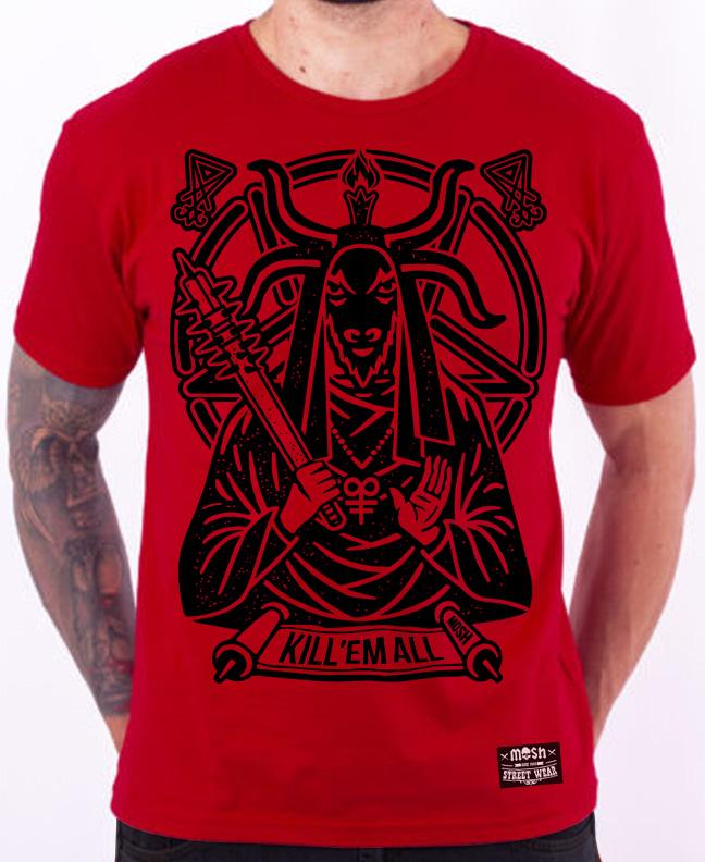 Camiseta Kill em All