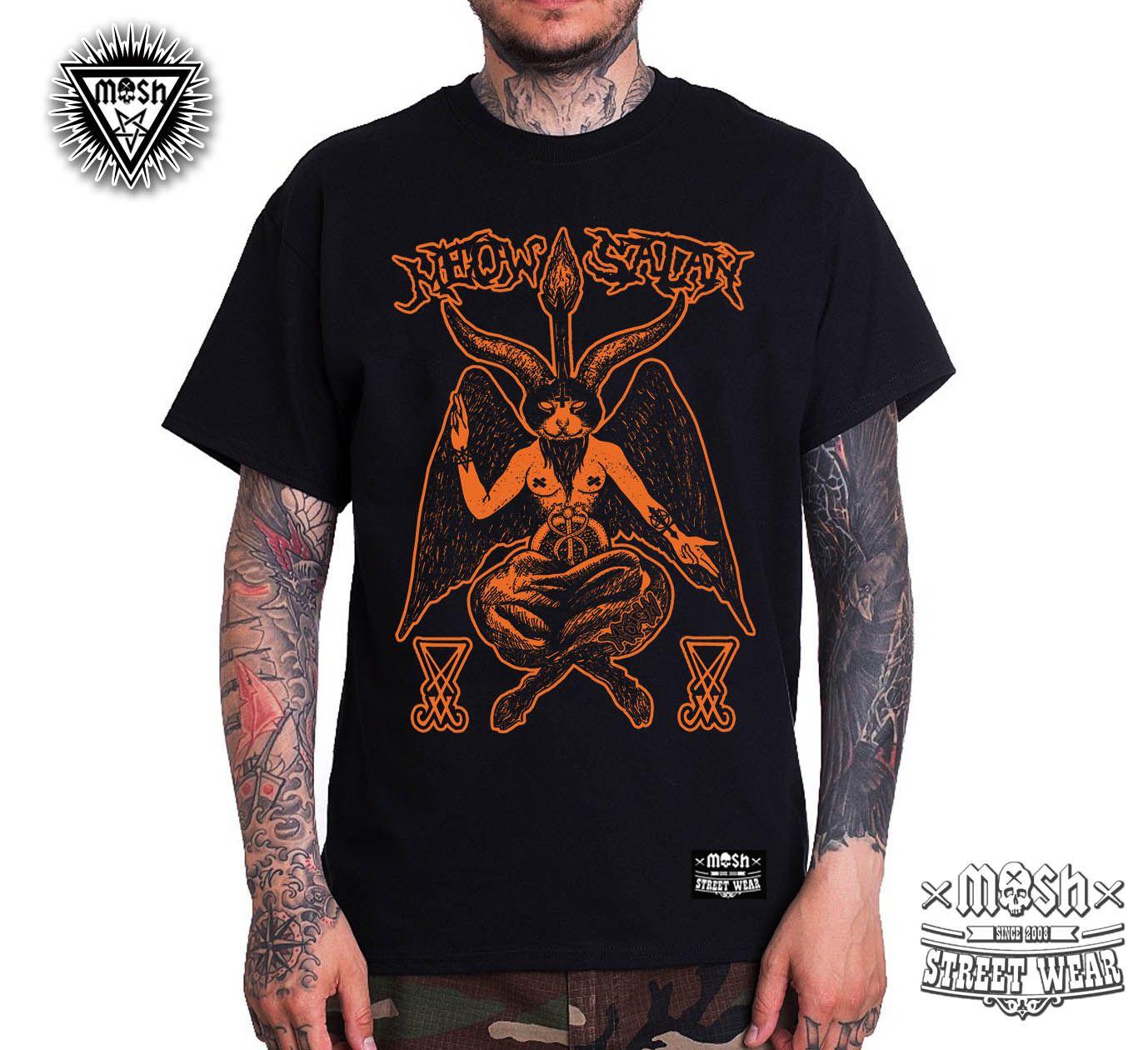 Camiseta Meow Satan