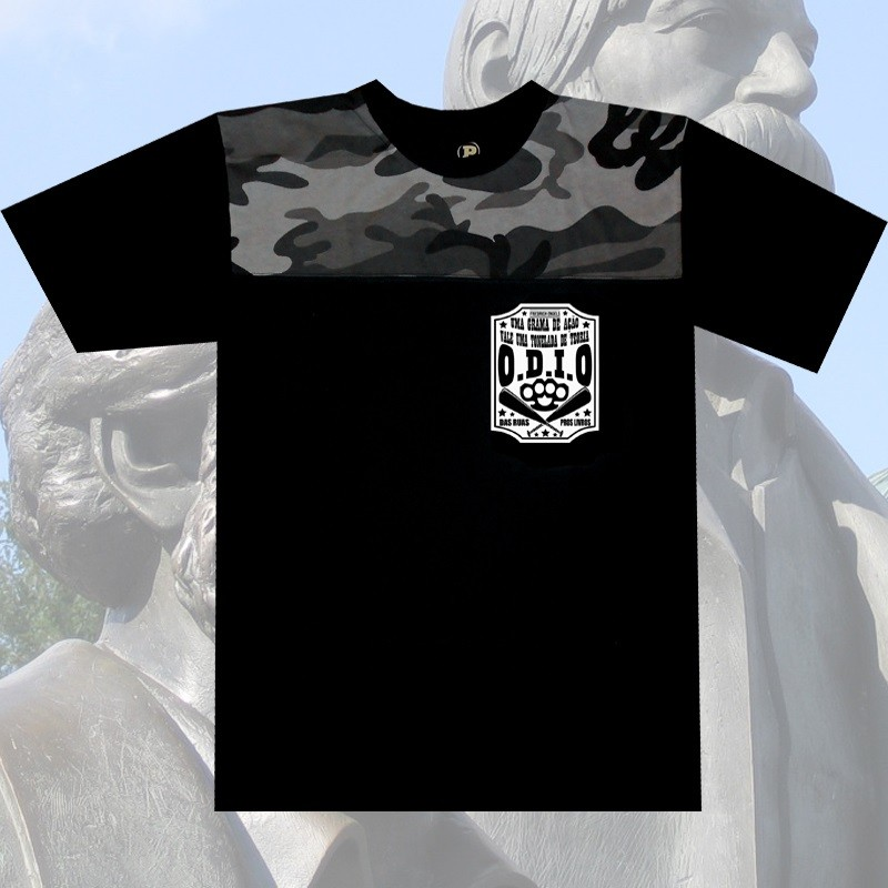 Camiseta O.D.I.O - ENGELS UMA TONELADA