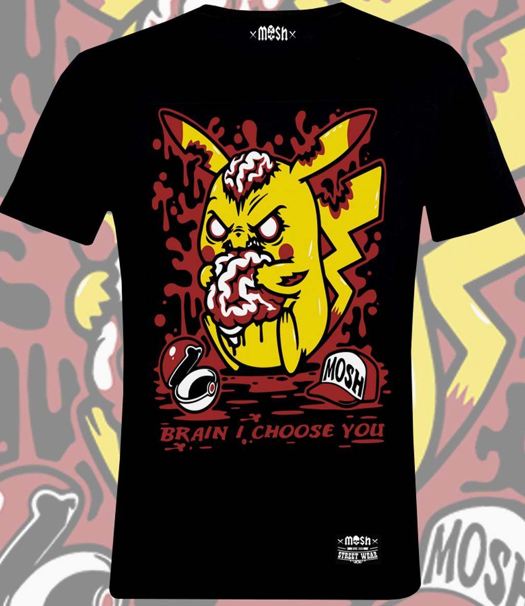 Camiseta Pikachu