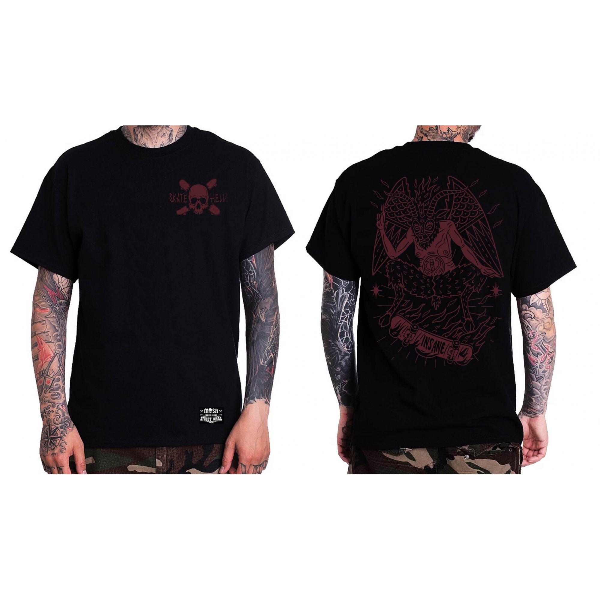 Camiseta Skate Hell