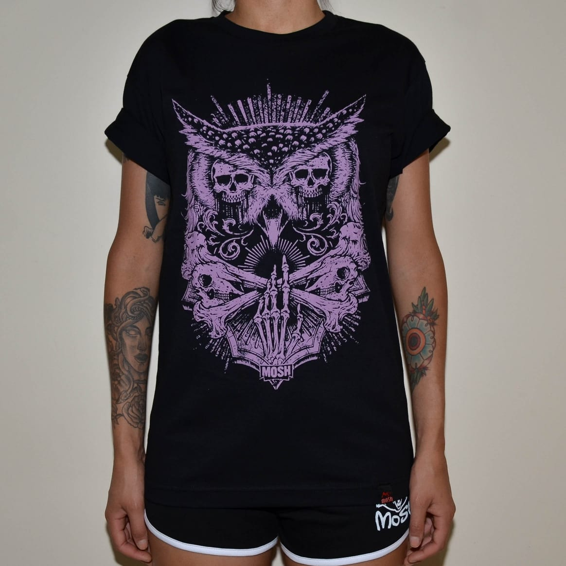 Camiseta Skull Owl