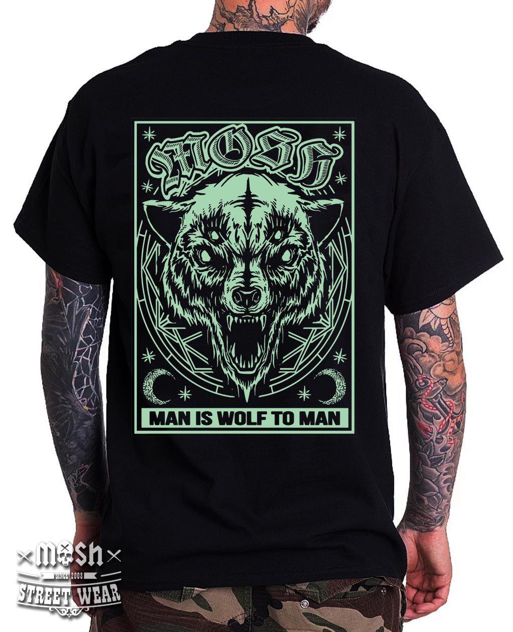 Camiseta Wolf 4 Eyes