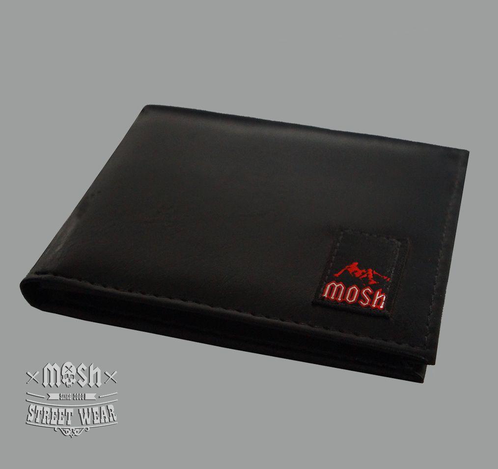 Carteira MOSH Preta