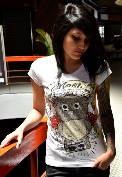 Gola U feminino Owl Cute