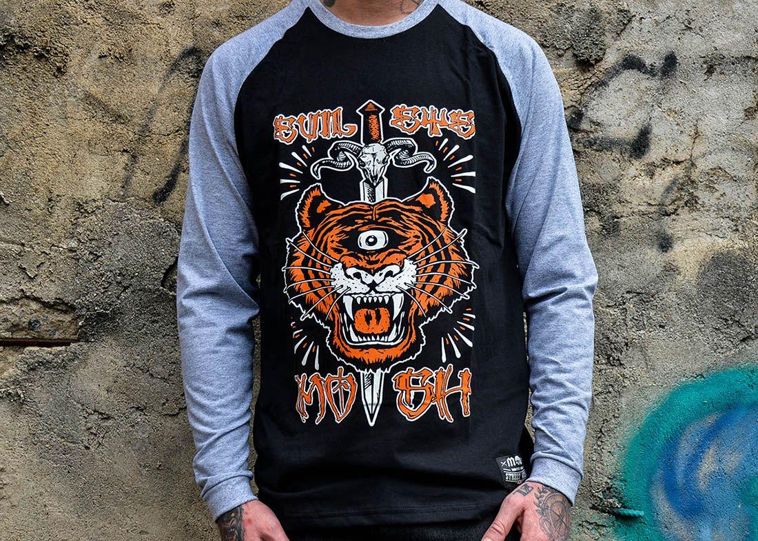 Manga Longa Masc Tiger