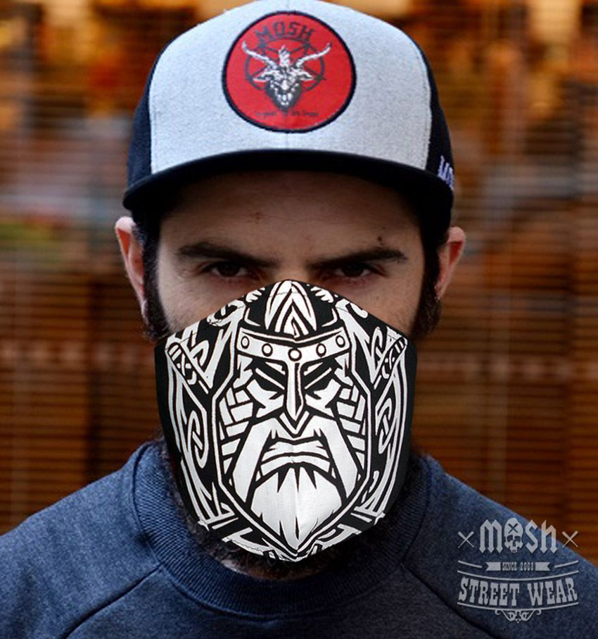 Máscara Nordic Axes