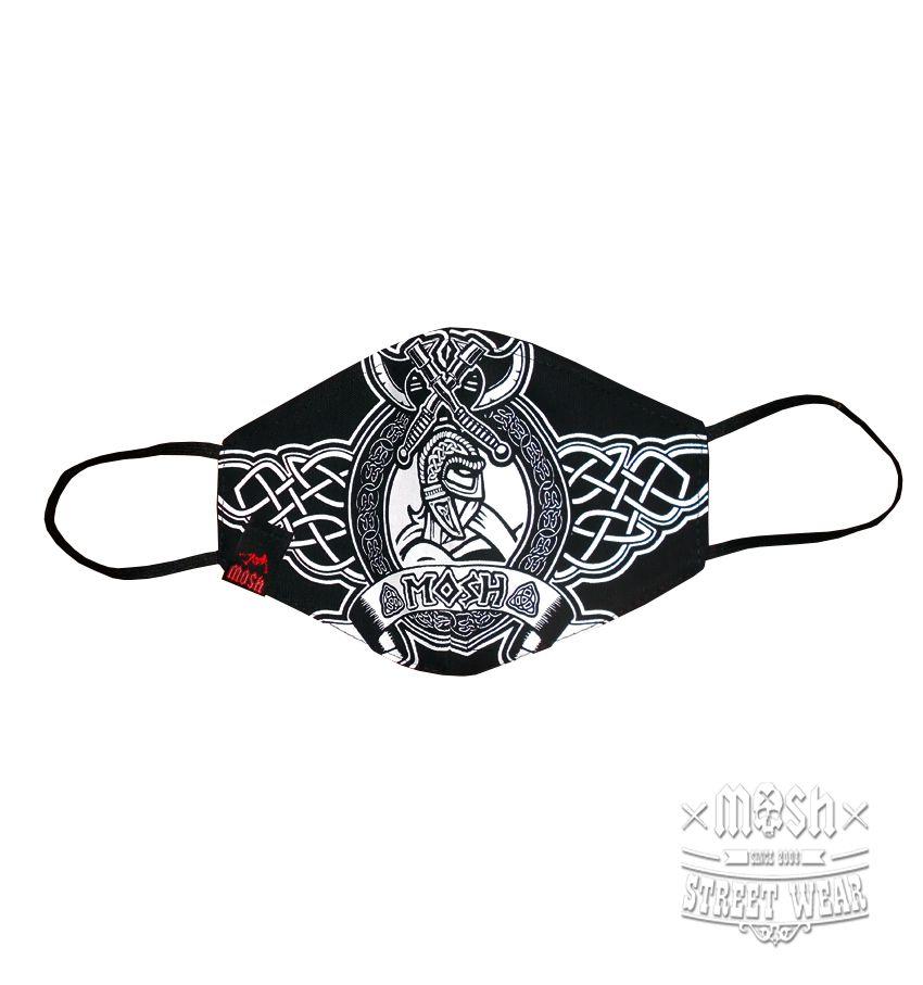 Máscara Viking Tribal