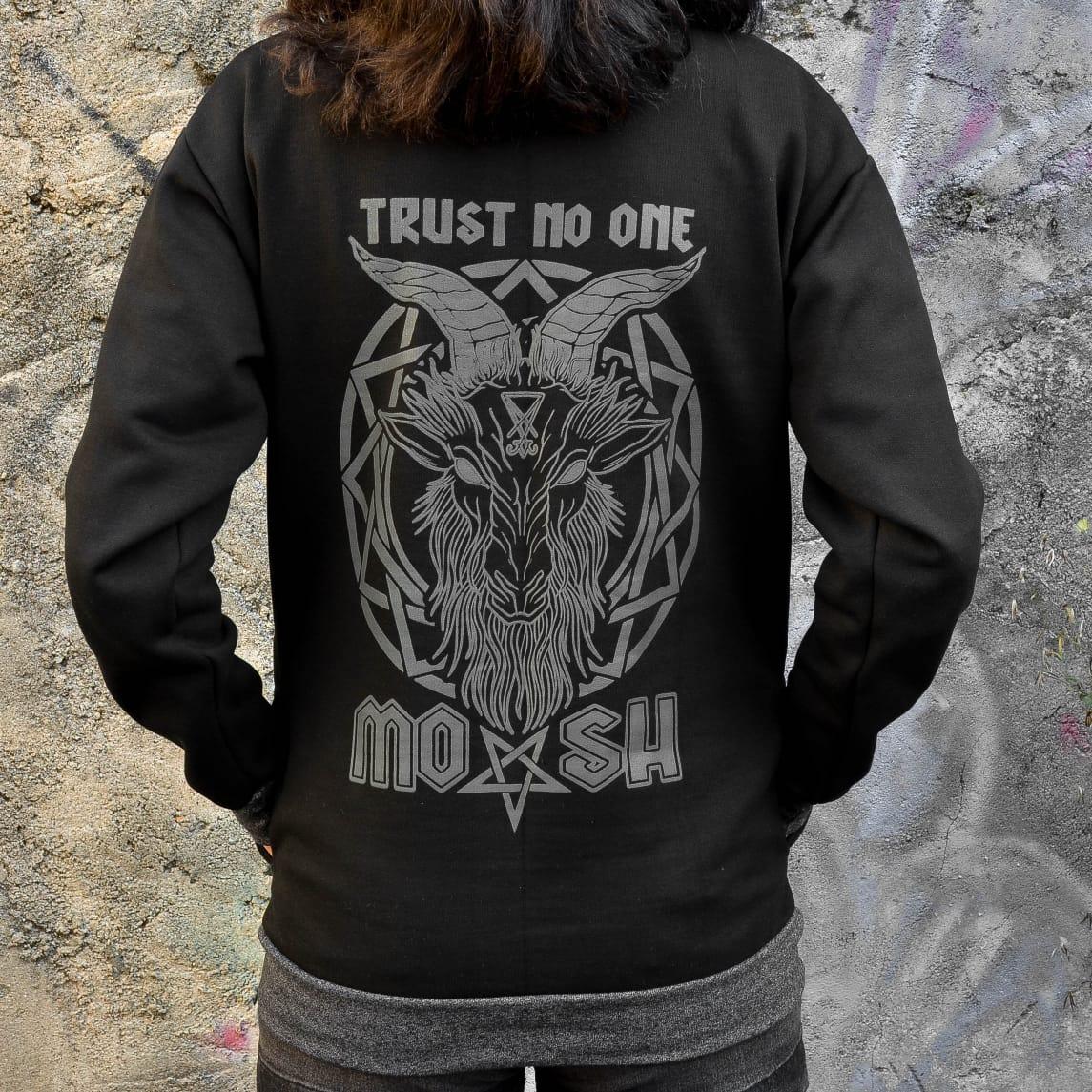 Moletom Bolso Trust No One