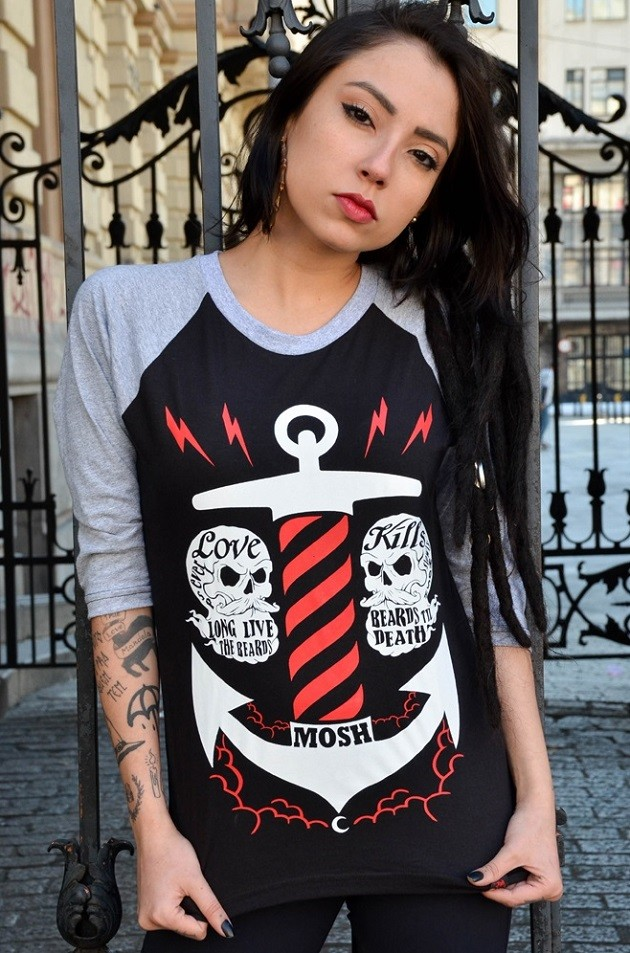 Raglan Fem Anchor Moon