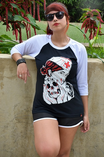Raglan Feminino Enfermeira