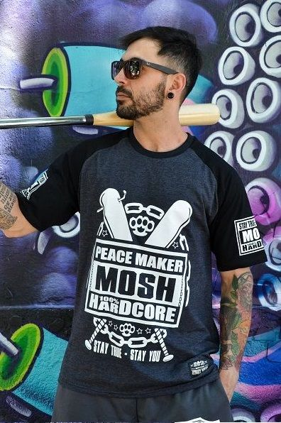 Raglan Masc PEACE MAKER