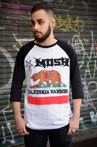 Raglan Masculina California HC