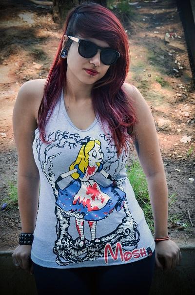 Regata Feminino Alice Zombie