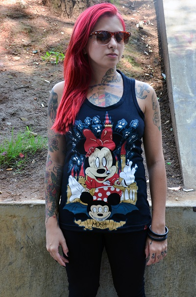 Regata Feminino Minnie Mosh