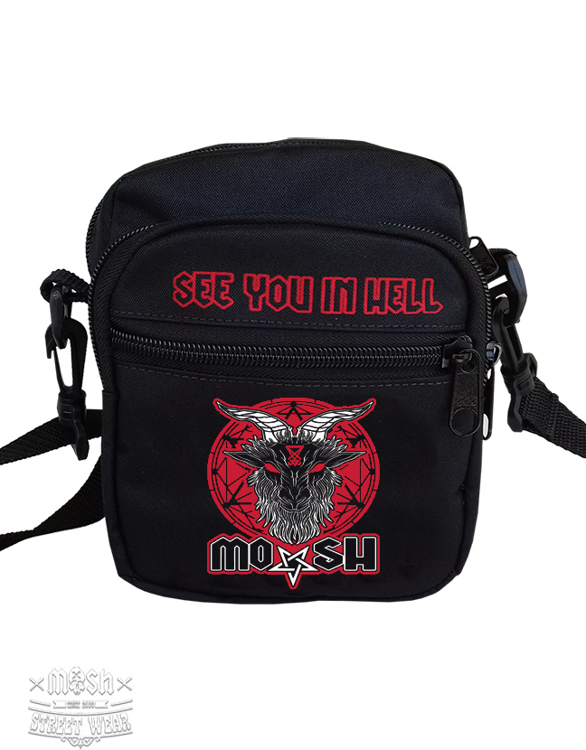 Shoulder Bag SEE YOU IN HELL