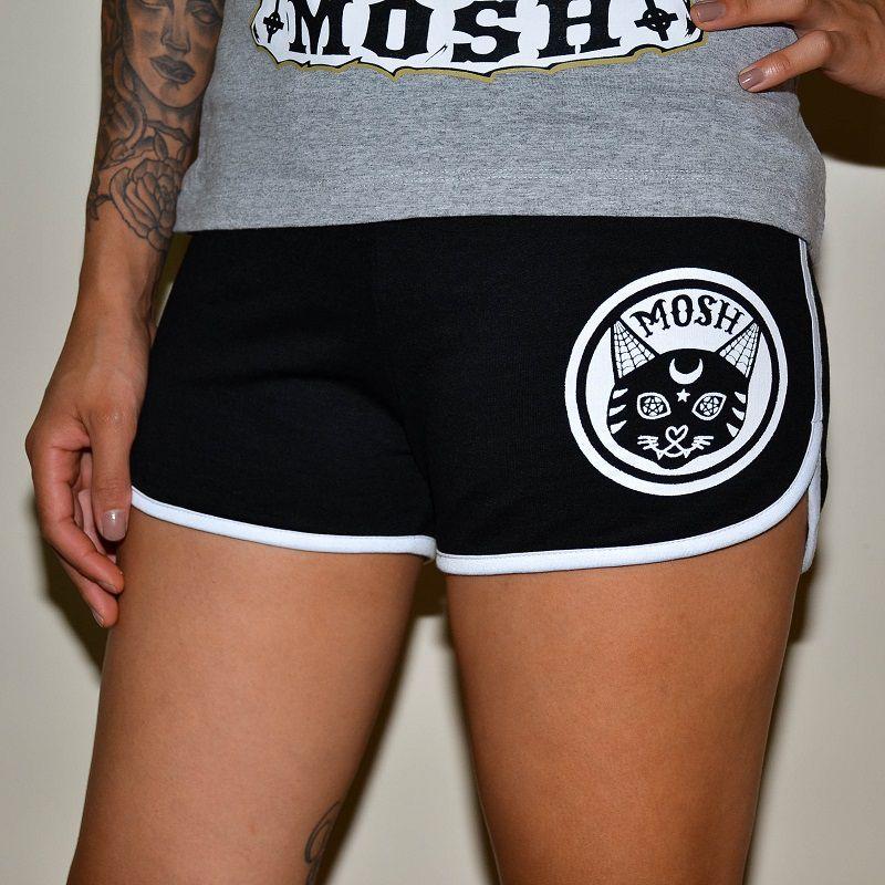 Shorts Black Cat