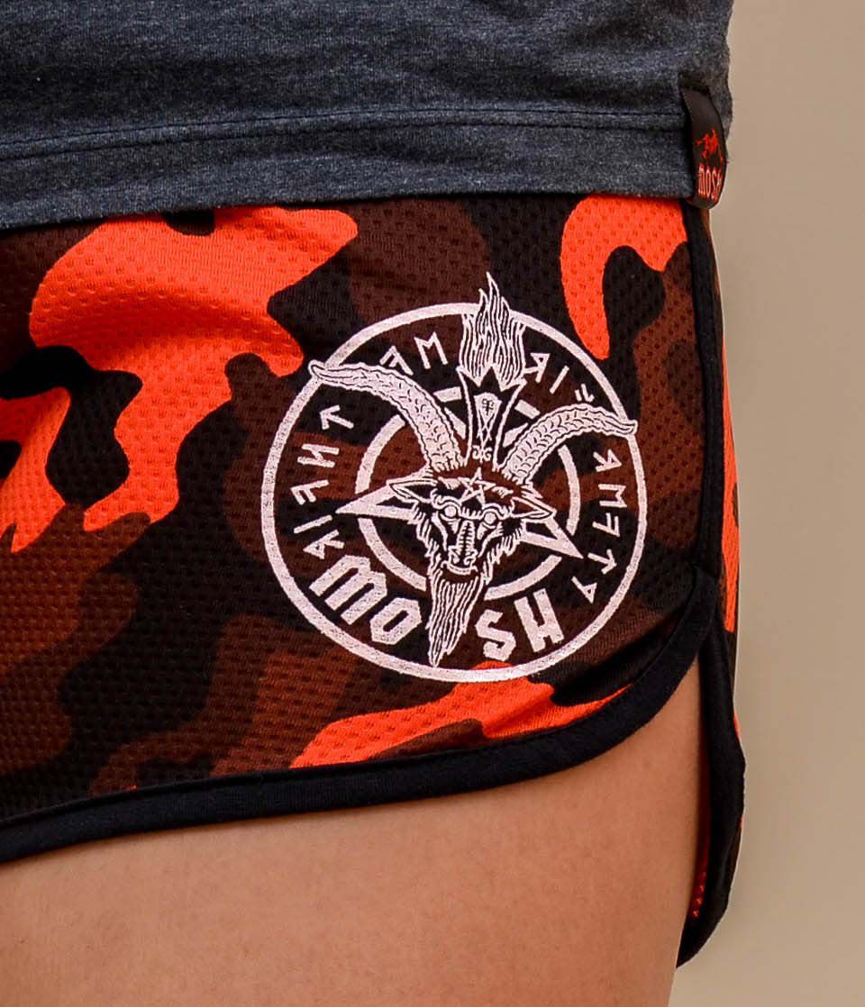 Shorts Dry Fit King Skull Camuflado