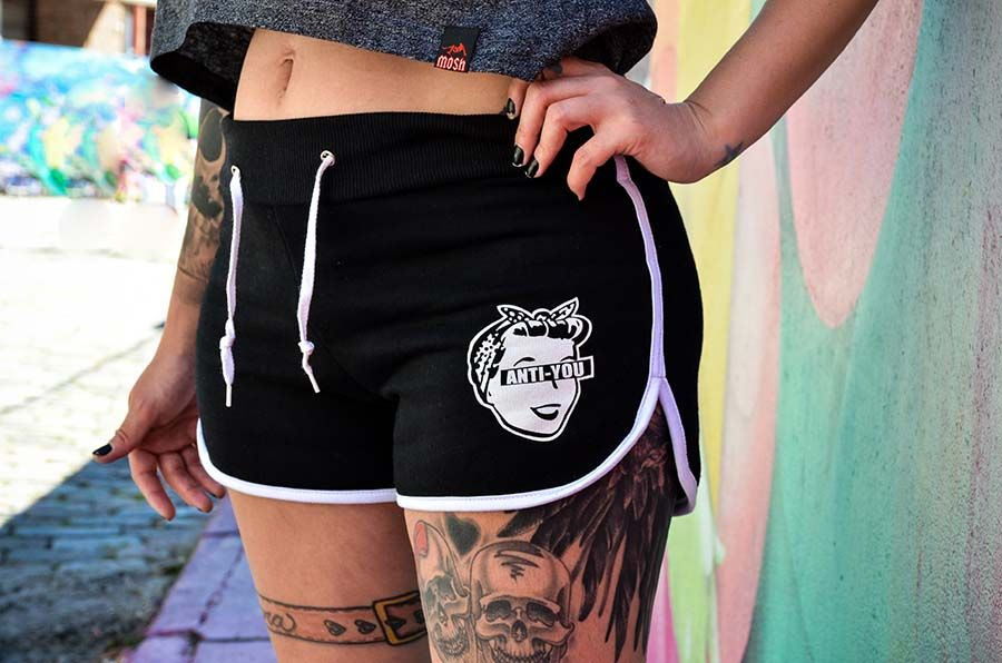 Shorts Moletom AntiYou