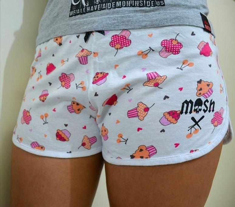 Shorts Underwear Cupcake