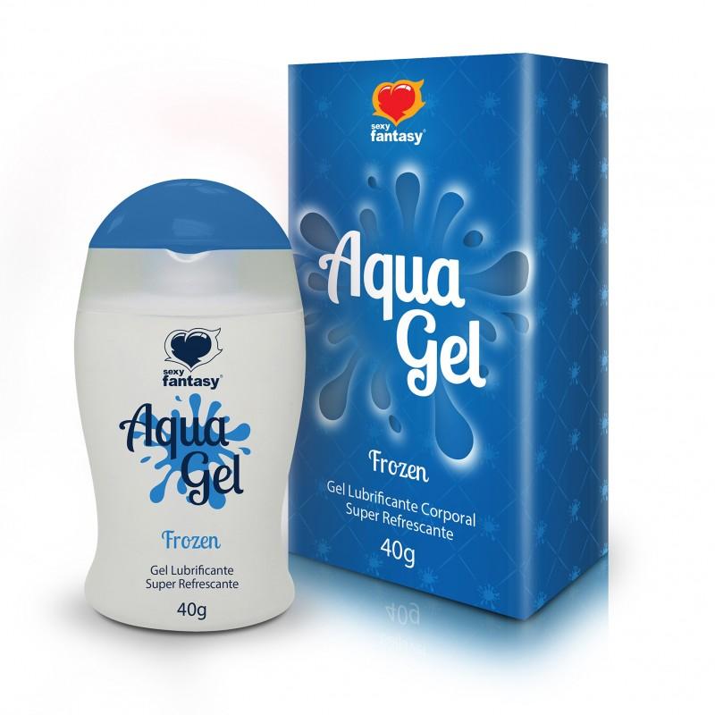 AquaGel Frozen - Lubrificante  e Excitante 40g