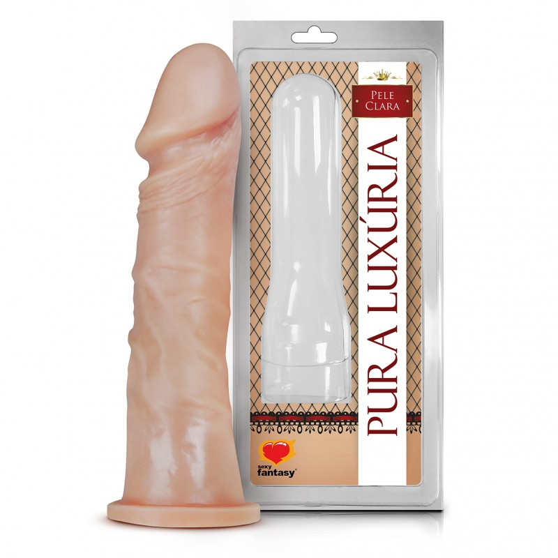 Pênis Realístico Macico - 17x4,2cm