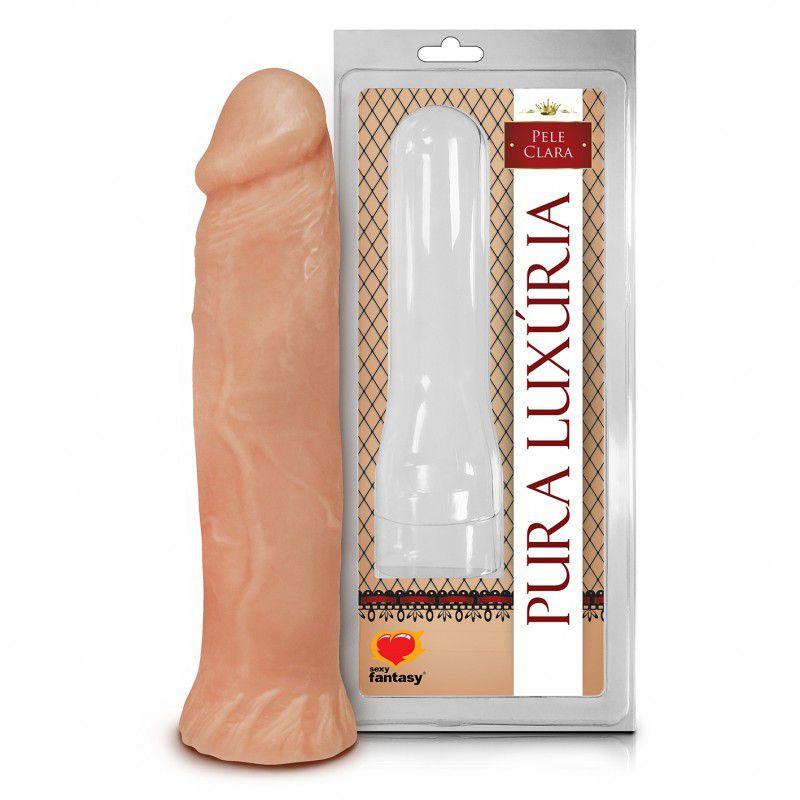 Pênis Realístico Macico - 18x3,8cm