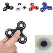 fidget spinner brinquedo anti-stress e ansiedade - preto