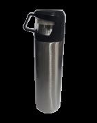 Garrafa Térmica Inox 500ml Com Tampa Para Água Chá E Cafe