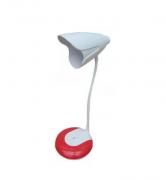 luminária de mesa decorativa led touch flexível a pilha