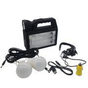 sistema de iluminação emergencial recarregável portátil