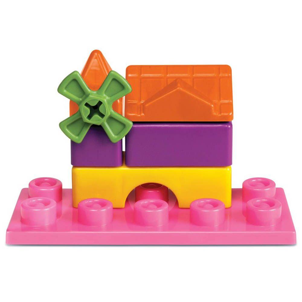 andador infantil 4 em 1 educativo com haste rosa magic toys