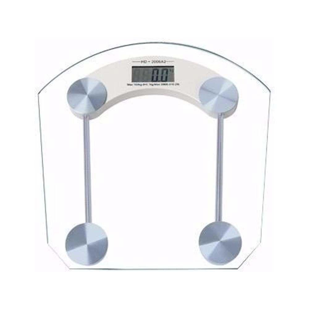 balança digital em vidro para banheiro de 2,5 A 150 kg