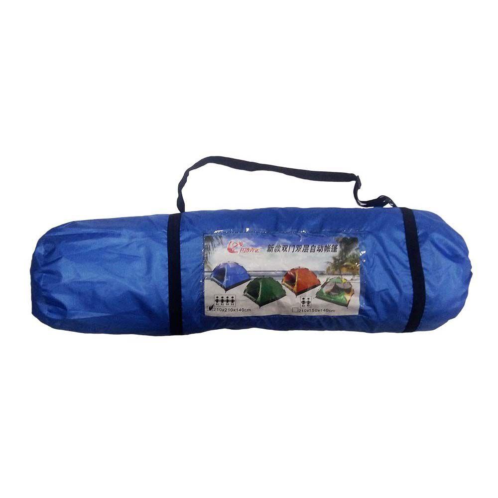 barraca para camping iglu para 4 pessoas impermeável - azul