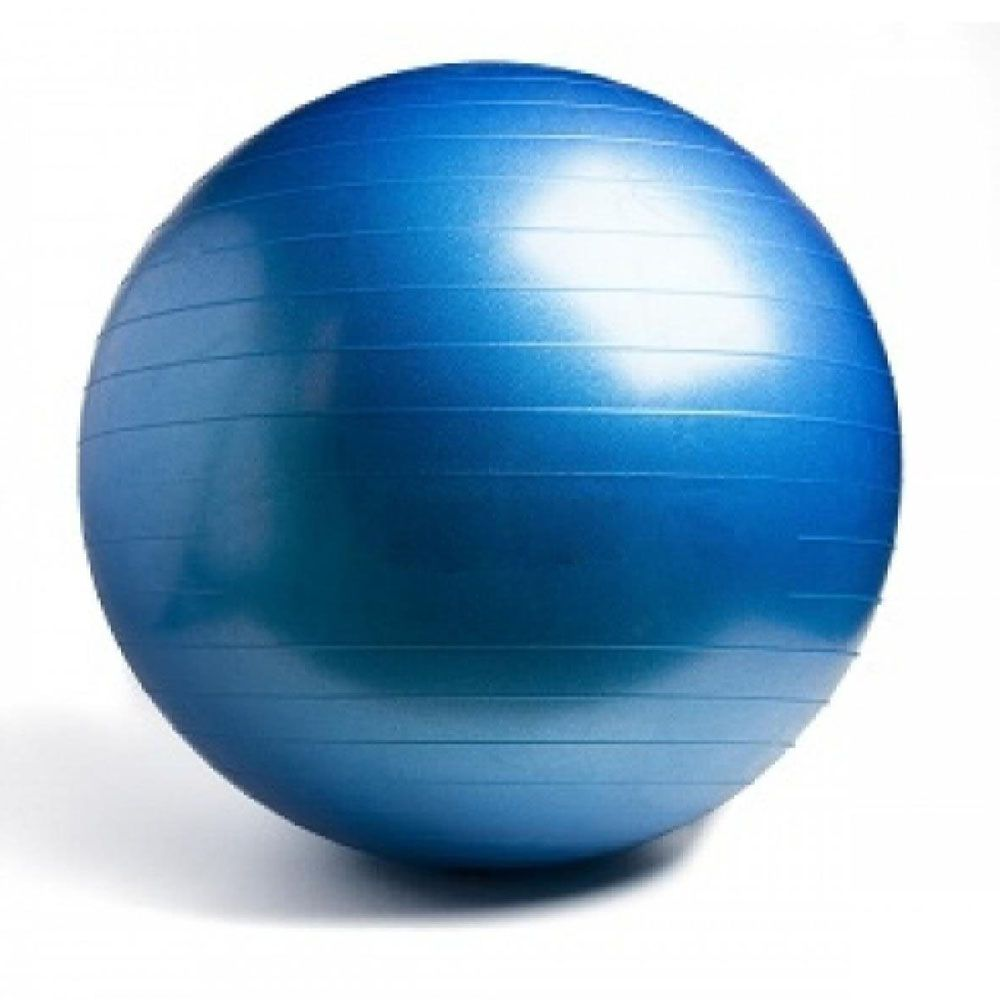 bola de pilates para yoga e ginástica com bomba de ar 65cm