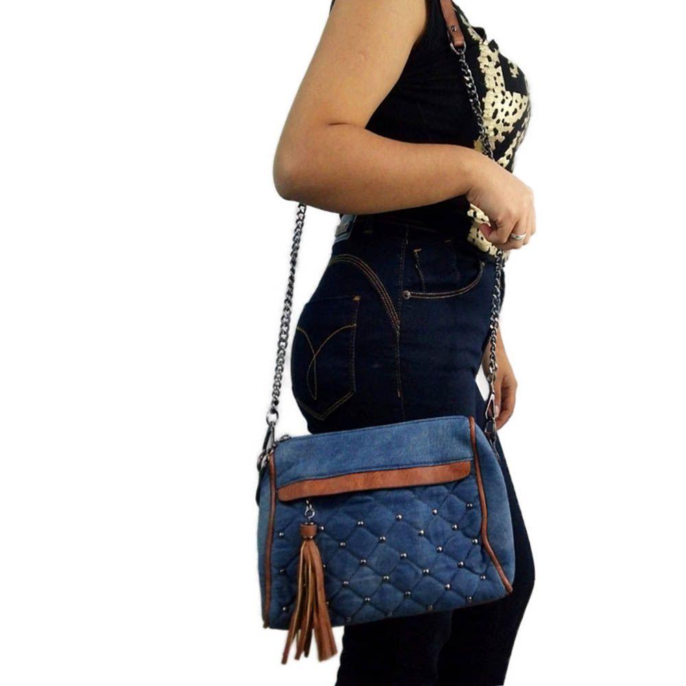 bolsa feminina de ombro com alça transversal