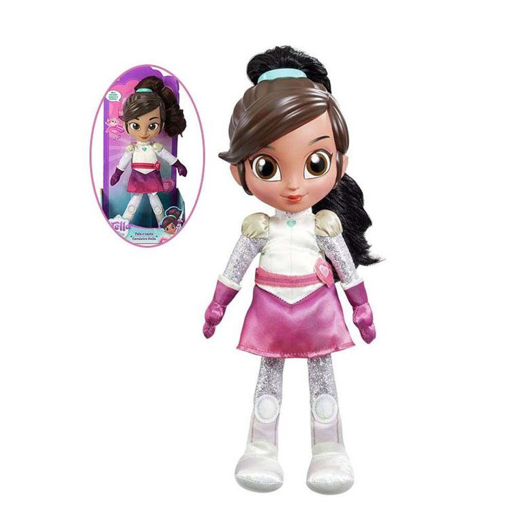 boneca princesa corajosa nella fala e canta 30 cm