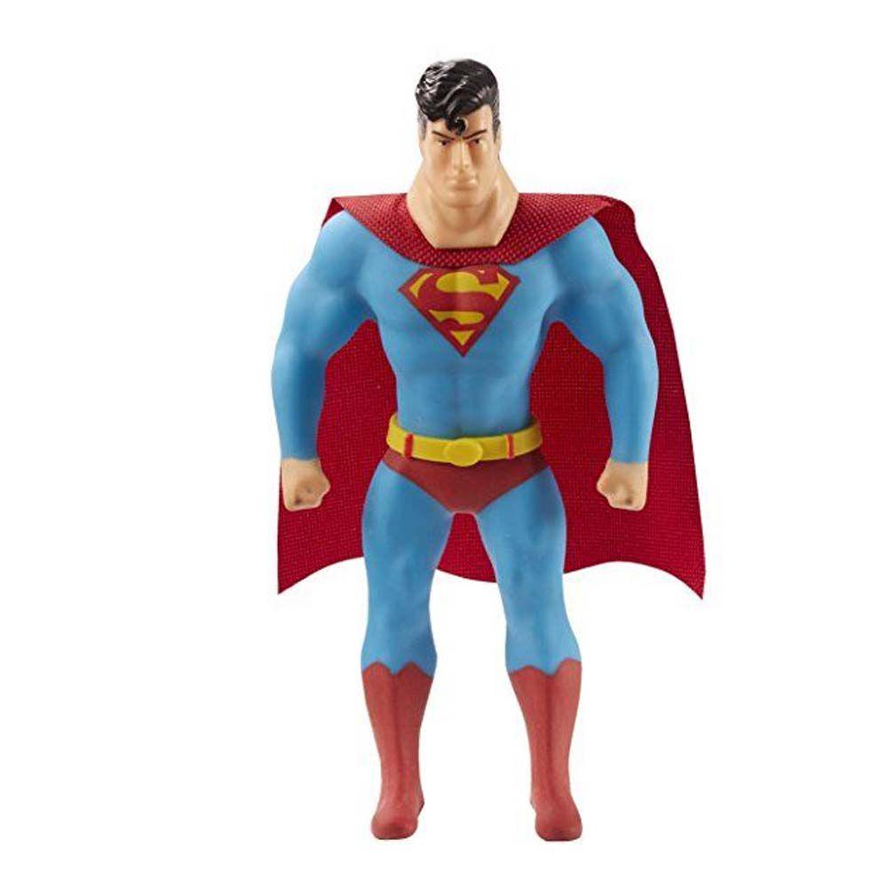 boneco estica herói superman liga da justiça dtc