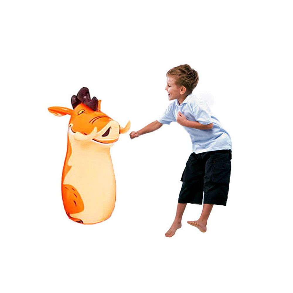 boneco joão bobo javali inflável boneco e pancadas infantil