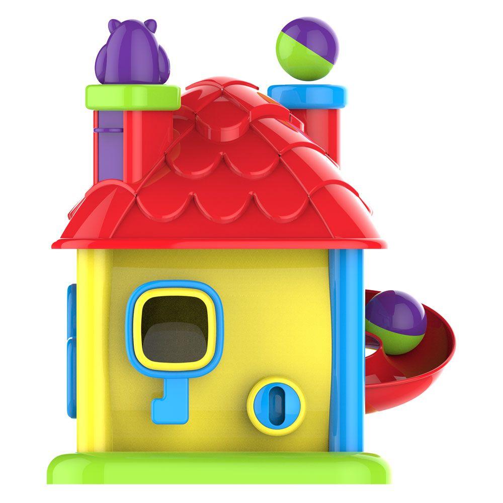 Brinquedo Educativo Infantil Didático Casinha Magic com Sons e Luzes